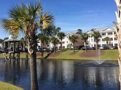 Photo for Private condo in gated community: beautiful views
