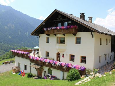 Photo for Charming apartment on a working farm with a beautiful view of the Ötz Valley