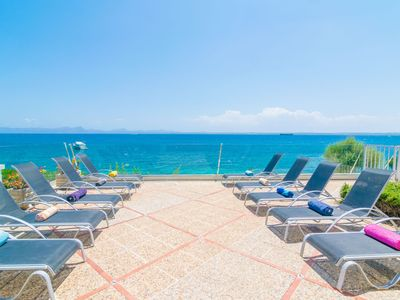 Photo for VILLA CAN TORRENS - Chalet with sea views in Alcanada.