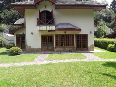 Photo for house with 4 suites in condominium in Capivari 450m from Baden Baden