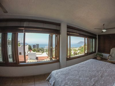 Ocean view from Bed