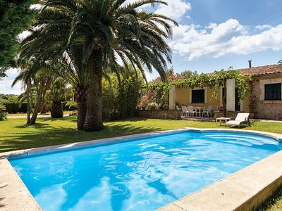 Photo for 3 bedroom Villa w/pool, BBQ & free a/c, a short drive from Puerto Pollensa