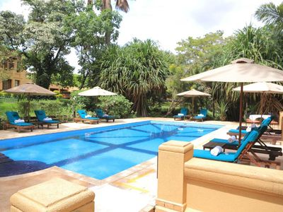 Photo for The wonderful Hotel located on two acres of tropical gardens