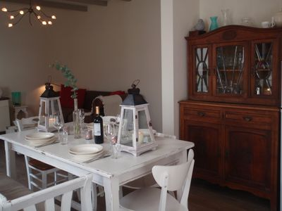Photo for Atmospheric holiday home at 250 m from Sea / beach and village center; Free WIFI
