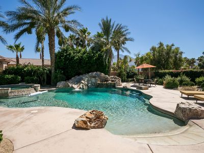 Photo for LUXURY HOME, PRIVATE HEATED POOL, SLIDE-PGA WEST