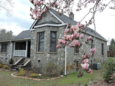 Photo for The (renovated) Old Stone Cottage 3 blocks from town center - 2BR, 2B, Sleeps 6