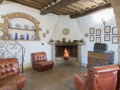 Photo for Vacation home Podere dei Venti in Castel del Piano - 12 persons, 6 bedrooms