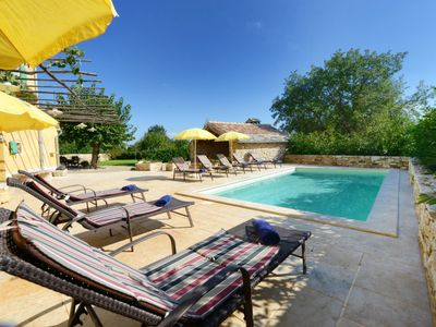 Photo for 4 bedroom Villa, sleeps 10 in Boškari with Pool, Air Con and WiFi