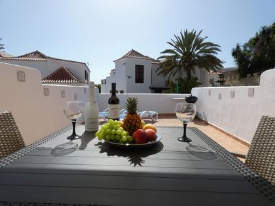 Photo for Beautiful apartments  with large terrace close to the beach
