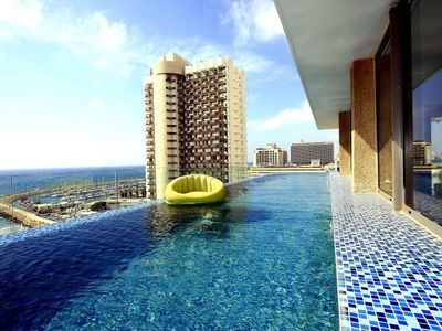 Photo for A VIP Roof-Top private pool Heaven ! 4BD