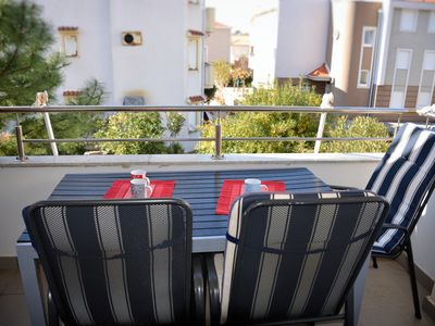 Photo for a modern apartment in the center of Novalja and close to the bay and bus stop