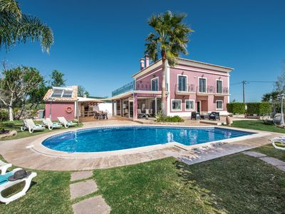 Photo for Unique 6 bed room Luxuary Villa in Algarve for until 14 pax ( Heated Pool)