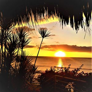 Enjoy almost daily the Incredible sunsets over the ocean