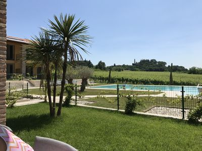 Photo for Cola di Lazise dreamlike holiday resort in the middle of the vineyards