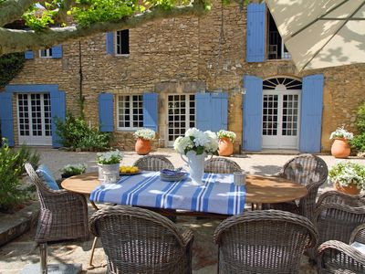Photo for 5* Luberon 18th Century Farmhouse, (Mas) Sleeps 14 In 7 Bedrooms/6 Bathrooms, Pr