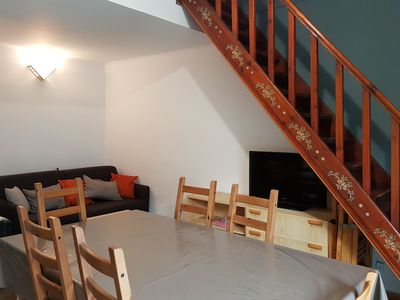 Photo for flat for 6 persons, (60m2), balcony with view at the street and at 100 mts to the slopes