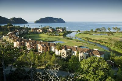 Birds eye view of the Del Mar Villas in Los Sueños Resort. Breathtaking views!