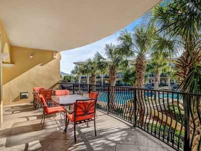Photo for ☀Adagio F205☀3BR-30A- Aug 21 to 23 $738 Total! Gulf Front Pool- Blue Mtn Beach!