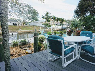 Photo for Calling all boaters and fishermen!! This oasis is 8 houses down to the Sarasota Bay on a deep water