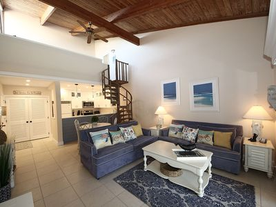 Photo for Beautifully Updated 2 Bedroom plus Loft w/ Pool Views- Coquina Beach 3F