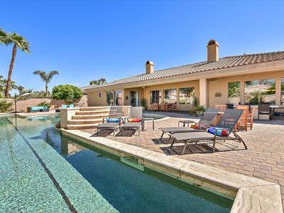 Photo for 25M private lap pool/ Coachella Valley Tuscan style luxury home