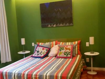 Photo for Wonderful 1 bedroom apartment in the heart of Ipanema
