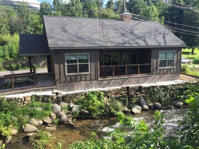Photo for 2 Bedroom Cabin on a Mountain Stream, in the Heart of Gatlinburg