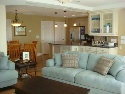 Photo for Avon Vacation Home with Oceanview and Short Walk to Beach