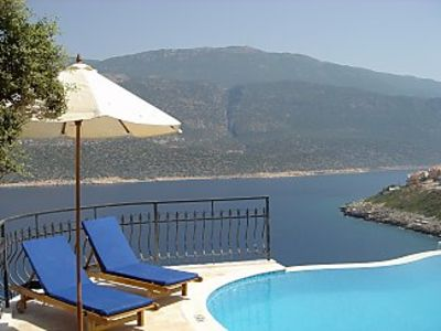 Photo for Four Bed Villa with Private Pool and Stunning Sea View