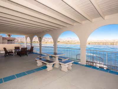 Photo for BIG RIVERFRONT (1253) ON RIVER with direct access to the Colorado River