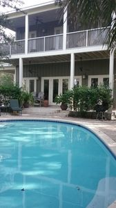 Photo for Blue Mountain Beach 1 block to beach access 4BR 4BA Sleeps 8 at 41 Gulf Point Ro