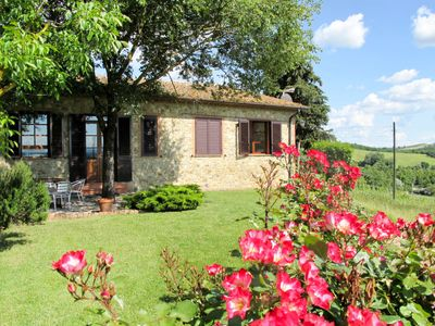 Photo for Vacation home Cignanbianco - Alba (CTC240) in Castellina in Chianti - 3 persons, 2 bedrooms