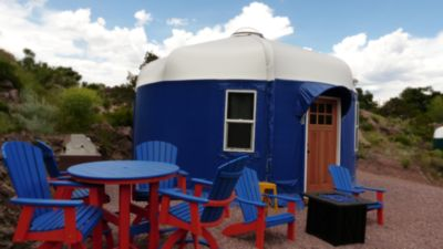 "Photo for Beach Front Yurts ""Blue Heron"" 
