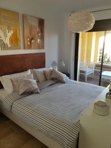 Photo for Superb apartment in residence in Duquesa Village