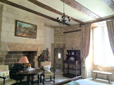 Photo for FANTASTIC 16th CENTURY MANOR IN THE HEART OF AURAY