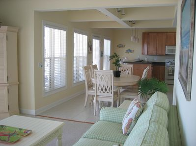 Family Room, Dining Area, Kitchen
