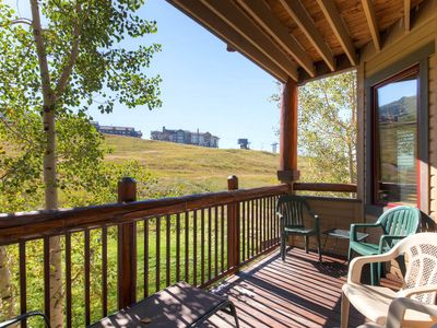 Photo for Astonishing Summer Mountain Views, Cozy Condo with Private Balcony!