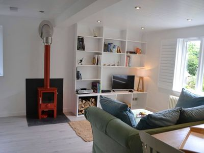 Photo for The Nod, Lamorna, Cornwall - luxurious self-catered holiday annex