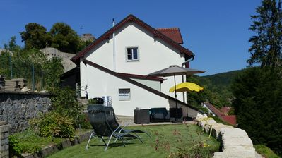 Photo for Romantic country house directly below the castle in Pappenheim
