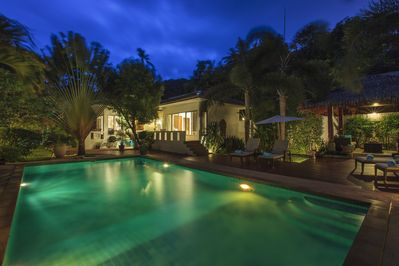 Baan Jasmine Villa at Night