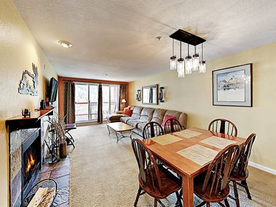 Living Area - Welcome to Keystone! This mountainside condo is professionally managed by TurnKey Vacation Rentals.