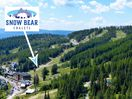 Snow Bear Chalets, located right ON the slope. It's the perfect location regardless of the season.