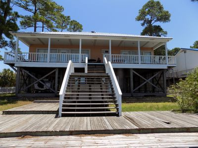 Photo for Bayou Heron Waterfront with dock, BRING GOLF CLUBS, JET SKIS, PADDLE BOARDS.