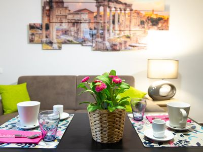 Photo for DOMUS CARACALLA A ROMANTIC APARTMENT IN THE HEART OF ANCIENT ROME
