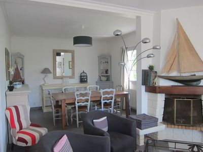 Photo for Large family home in Port-Manech, 10 mn beach