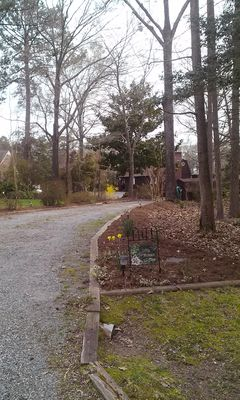 Turn here because you have arrived at Little Wicomico Cottage!
