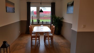 Photo for Quiet apartment right on the Kiel Canal