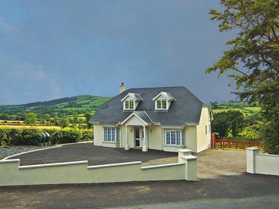 Photo for Detached dormer bungalow on country road close to the Wicklow/Wexford border and enjoying fine…
