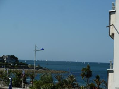 Photo for Benodet, beautiful apartment, full heart of the seaside resort, rated 1 star