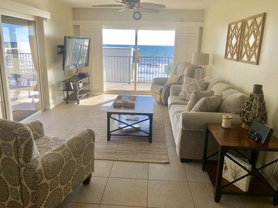 Photo for Ocean Front Condo 2 Bed 2 Bath REMODELED Penthouse w/ Large Private Balcony